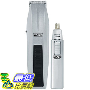 [美國直購] Wahl 5537-420 刮鬍刀修容器 Mustache and Beard Trimmer with Bonus Trimmer