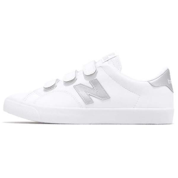 New Balance 210 男鞋 女鞋 休閒 復古 魔鬼氈 白 銀【運動世界】AM210VMS