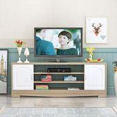 電視櫃現代簡約客廳茶幾組合套裝簡易電視機櫃歐式迷你小戶型地櫃FA