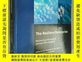 二手書博民逛書店The罕見Resilient Enterprise : Reco