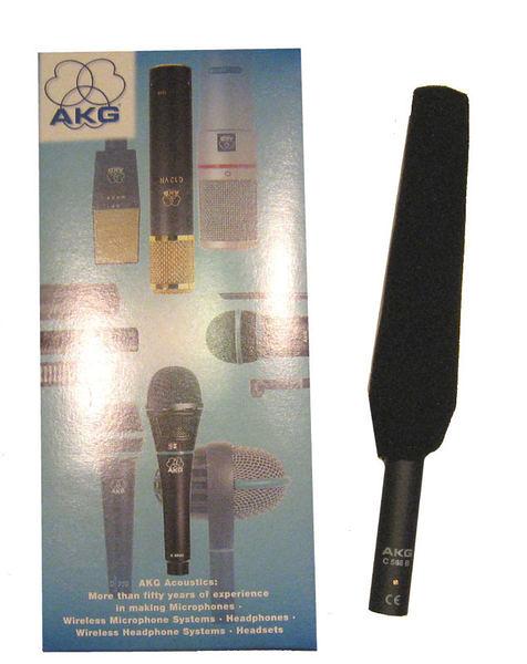 ★集樂城燈光音響★AKG C568B長槍式 收音麥克風 每支1000/日租超低價!