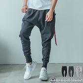 高品質大口袋飛鼠褲休閒褲【JG3093】OBIYUAN 立體剪裁運動褲/束口褲 共3色