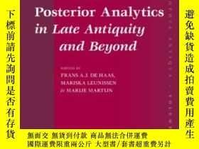 二手書博民逛書店Interpreting罕見Aristotles Posterior Analytics In Late Anti