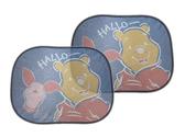 【卡漫城】 維尼熊 隔熱板 二入一組 ㊣版 吸盤式 汽車 車窗 側窗 遮陽板 Winnie 小熊維尼 Pooh 摺疊