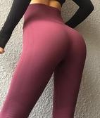 性感翹臀高腰蜜桃提臀褲緊身彈力健身褲運動速干瑜伽長褲女秋 居享優品