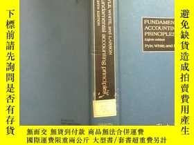 二手書博民逛書店FUNDAMENTAL罕見ACCOUNTING PRINCIPLES 館藏Y210251