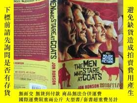 二手書博民逛書店The罕見Men Who Stare at GoatsY1947