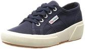 【SUPERGA】 義大利時尚帆布鞋 / 5公分楔型款 深藍