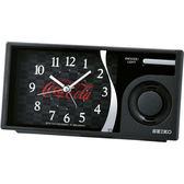 SEIKO 可口可樂聯名 滑動式秒針 音樂鬧鐘-黑/15x7.5cm QHP901K