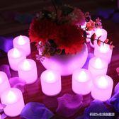 驚喜led電子蠟燭燈 創意浪漫布置裝飾品 成人求愛表白  BS20708『科炫3C』TW