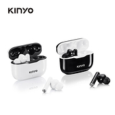 KINYO 簡約無線藍牙耳機BTE3897-黑/白【愛買】