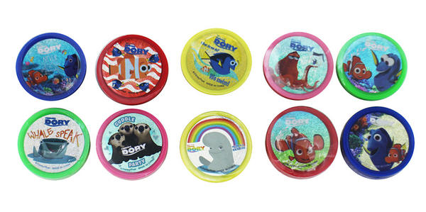 【卡漫城】 海底總動員 印章 10入組 ㊣版 兒童玩具 獎勵 圖章 Finding Dory 多莉 尼莫 Nemo 章魚