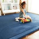 客廳地毯 地毯臥室客廳兒童加厚床下邊毯可睡坐冬防摔寶寶爬行榻榻米地墊【毛菇小象】
