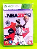 (缺) 實體版 Xbox 360 美國職業籃球 NBA 2K18 亞版中文版