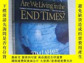 二手書博民逛書店Are罕見We living in the end times