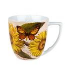 德國Waechtersbach經典彩繪系列390ml馬克杯-Nature向日葵