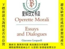 二手書博民逛書店【罕見】1983年出版 Operette Morali: Essays And DialoguesY17557