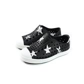 native JEFFERSON PRINT 懶人鞋 洞洞鞋 黑色/星星 小童 童鞋 13100101-8759 no900