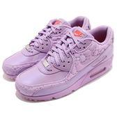 【五折特賣】Nike 復古慢跑鞋 Wmns Air Max 90 QS 紫 紅 Paris 巴黎 休閒鞋 女鞋【PUMP306】 813150-500