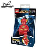 閃電俠 LEGO/樂高/樂高鑰匙圈/鑰匙圈/DC 正義聯盟/LED/LED鑰匙圈