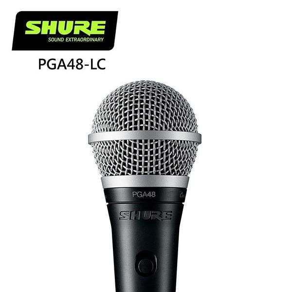 SHURE PGA48-LC 動態人聲麥克風--原廠公司貨