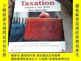二手書博民逛書店Taxation罕見Finance Act 2010Y17747