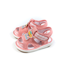 兒童鞋 涼鞋 嗶嗶鞋 童鞋 粉紅色 中童 B038 no179