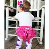 RuffleButts PP包屁短褲 桃紅蕾絲 | 女寶寶褲子(嬰幼兒/兒童/小孩)