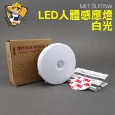 精準儀錶旗艦店LED 人體感應燈感應燈庭院燈人體感應燈小夜燈MET SLED5W