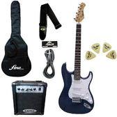★集樂城樂器★震撼價!ST1電吉他套裝組(新潮藍)