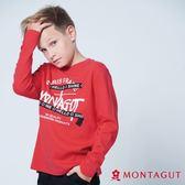 童裝男童純棉T恤 夢特嬌 紅色字母款 175cm