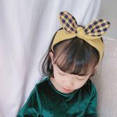 秋冬新款兒童髮飾女童兔耳朵髮箍公主百搭小女孩可愛潮妞頭箍 快速出貨免運