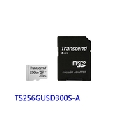 創見 記憶卡 【TS256GUSD300S-2】 256GB Micro-SD 含 Mini-SD 轉卡套件 新風尚潮流