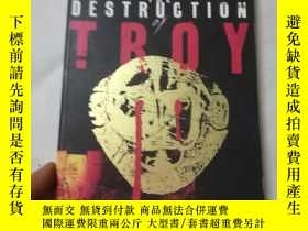 二手書博民逛書店The罕見destruction of troyY206777