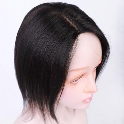 假髮片(真髮)-遞針全手織直髮一片式女假髮2色73vm29[時尚巴黎]