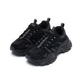 FILA INTERATION 中性黑色運動鞋-NO.4C602U001