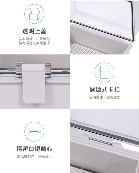 『堃邑Oget』JL-002(C) 透明上蓋 掀蓋式控制盒 ABS IP68 防塵防水控制盒 耐蝕防鏽 台灣製造