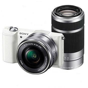 SONY A5100Y ILCE-5100Y 雙鏡組 數位相機 ★贈電池(共2顆)+座充+16G高速卡+保護貼+吹球組大全配