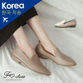 樂福.軟革素面樂福鞋-FM時尚美鞋-韓國精選.Lazy