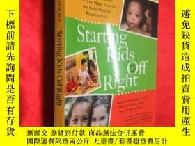 二手書博民逛書店Starting罕見Kids Off Right: How to