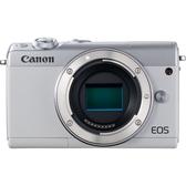 【聖影數位】Canon EOS M100 白色 單機身 平行輸入 3期0利率