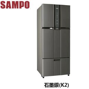 SAMPO聲寶 580公升變頻三門冰箱 SR-N58DV(K2)石墨銀