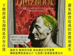 二手書博民逛書店趣味羅馬史罕見Latin Trivia Quizbook :Fu