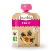 BABYBIO 有機純鮮黑棗纖果泥90g-法國原裝進口6個月以上嬰幼兒專屬副食品
