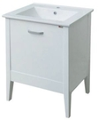 【麗室衛浴】國產精緻 PV1360  面盆置物櫃   寬60公分*深46公分*高82公分