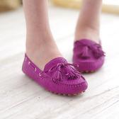 真皮懶人鞋 豆豆鞋 真皮帆船鞋 台灣製 雷根鞋《SV6554》快樂生活網