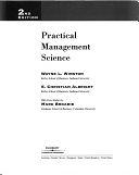 二手書博民逛書店 《Practical Management Science: Text》 R2Y ISBN:0534371353