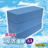 【VICTORY】高效率吸水海綿-大(3入) #1030013