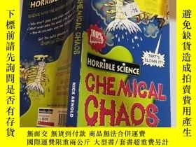 二手書博民逛書店chemical罕見chaos 化學混沌Y200392