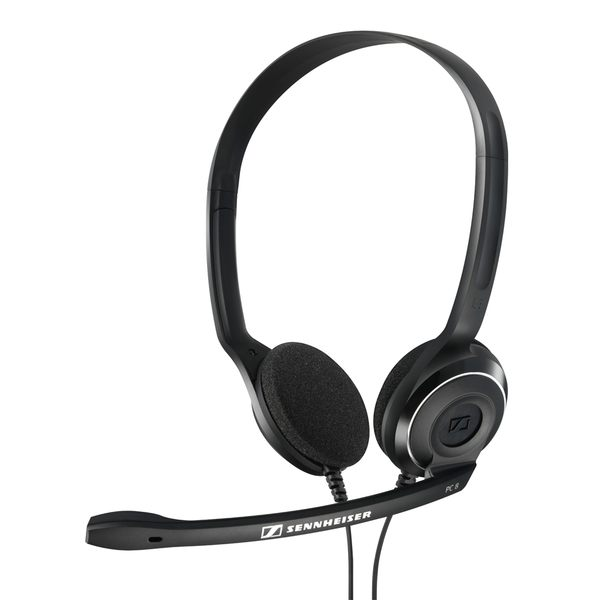 SENNHEISER 森海塞爾 PC 8 USB 貼耳式立體聲有線耳機麥克風 黑色 公司貨